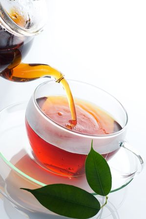 Pouring Tea Stock Photo - 6757055