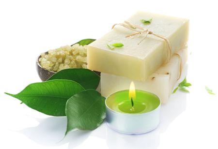 Natural Spa Handmade Soap Stock Photo - 7802523