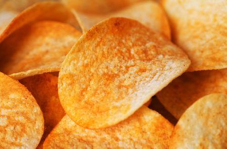 potato chips: Potato Chips Texture