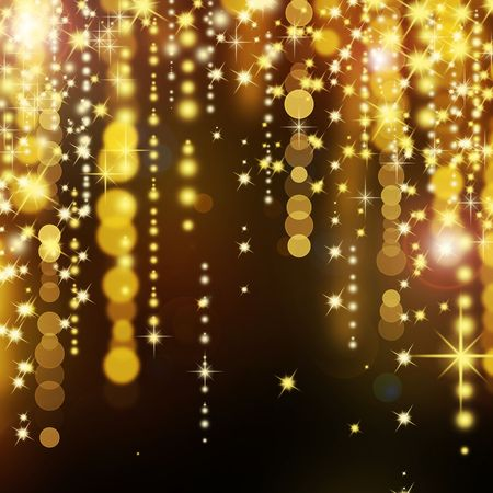 sparkles background: Abstract Golden background
