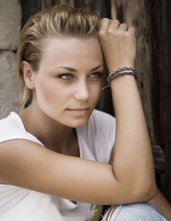 Beautiful Fashion Woman Portrait Stock Photo - 8718409