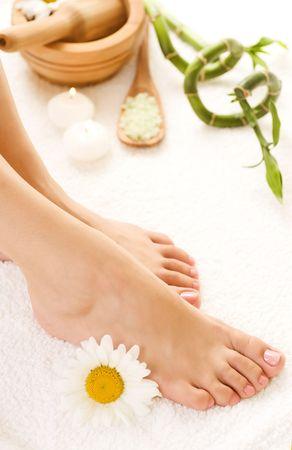 pied jeune fille: Spa pieds