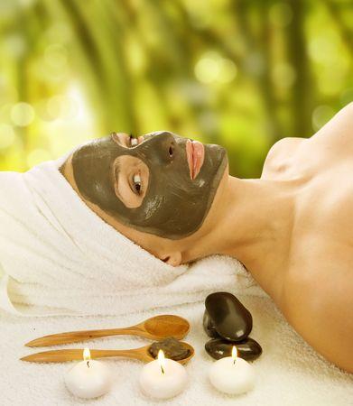 Máscara de barro