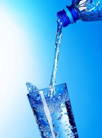 Pouring Fresh Water Stock Photo - 7579223