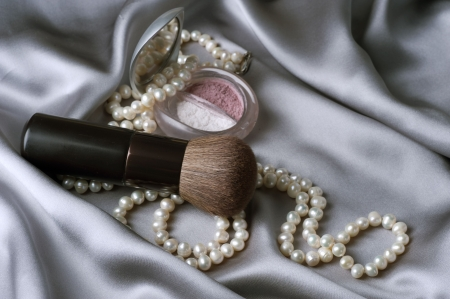 Make up.Makeup accessories Stock Photo - 7683094