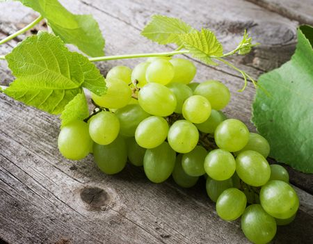 wooden beams: Bunch of grape