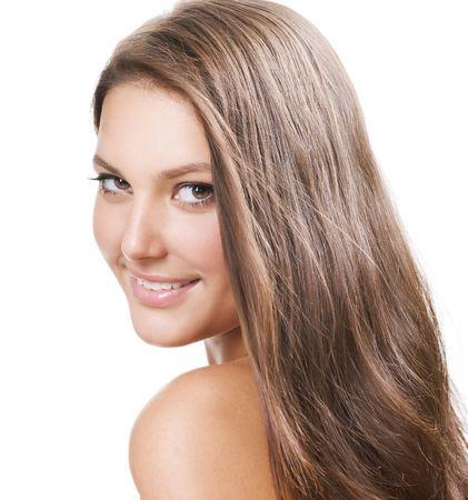 model nice:  Beautiful Healthy Girl portrait