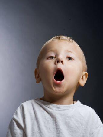nappy new year: Cute Baby Boy Stock Photo