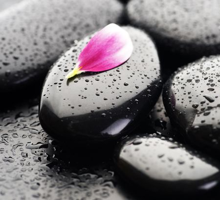 smooth stones: Spa