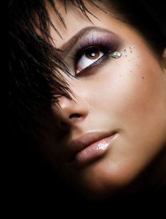 Creative Fashion Make-up photo