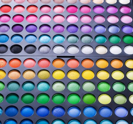 Make-up professional shadows palette photo