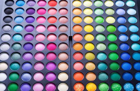 kosmetik: Make-up professionelle Schatten palette Lizenzfreie Bilder