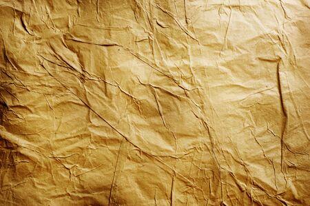 gebrannt: Alte zerknittertes Papier