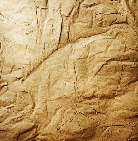 Old Crumpled Paper photo