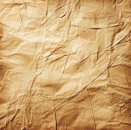 ripped: Old Crumpled Paper Stock Photo