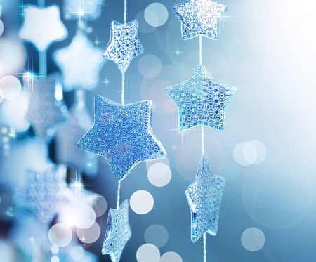 christmas backdrop: Christmas decoration. Winter