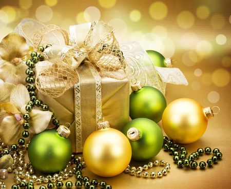 bright decoration color: Christmas Gift
