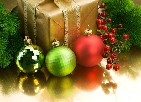 Christmas Decoration Border design photo