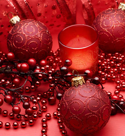 Christmas Decoration border design Stock Photo - 8392587