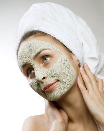 dayspa: Spa Facial Clay Mask. Dayspa