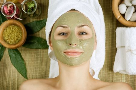 Spa Facial Mud Mask.Dayspa photo