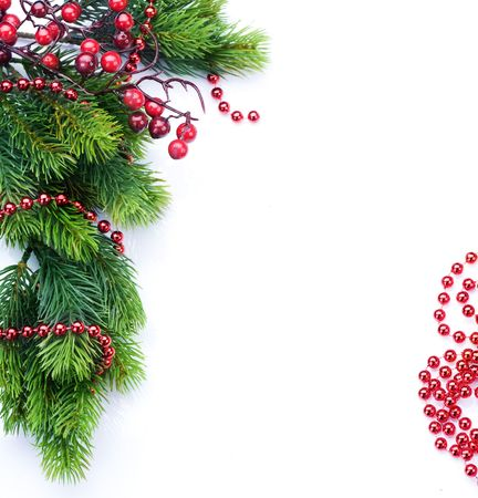 Christmas Decoration border design Stock Photo - 8392362