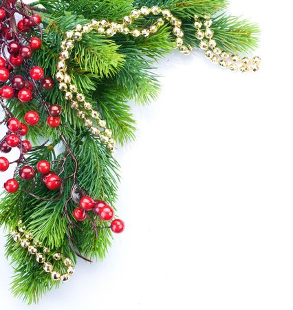 Christmas Decoration border design Stock Photo - 8392363
