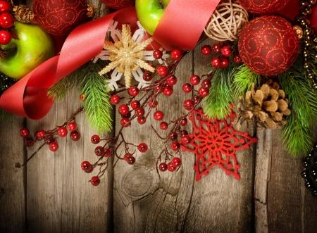 Christmas Vintage decoration Stock Photo - 8374904