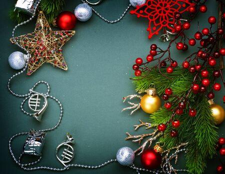 Christmas Decoration border design Stock Photo - 8375034