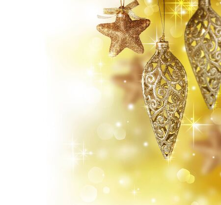 Christmas Decoration border design Stock Photo - 8375036