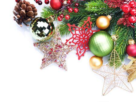 Christmas Decoration border design Stock Photo - 8375031