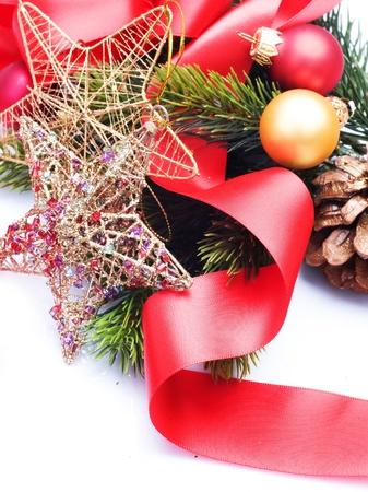 Christmas Decoration border design Stock Photo - 8375022