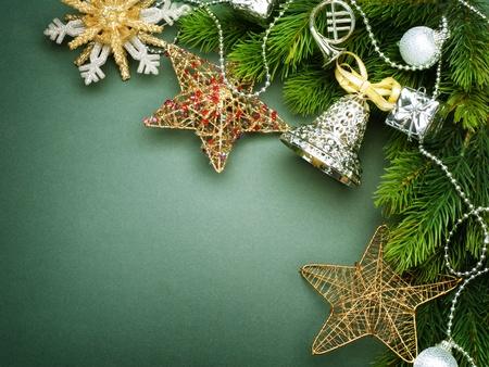 Christmas Decoration border design Stock Photo - 8375023