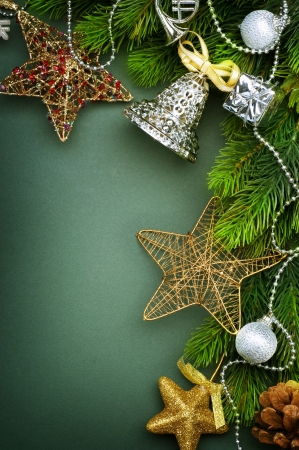 Christmas Decoration border design Stock Photo - 8375021