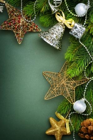 Christmas Decoration border design Stock Photo - 8375021