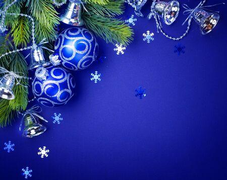 bauble: Christmas decoration border design