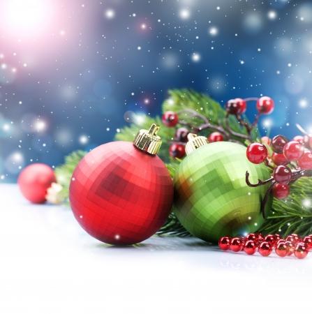 christmas bauble: Christmas  Stock Photo