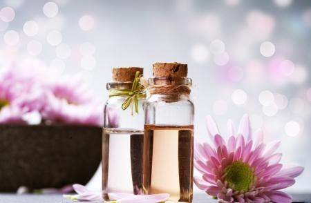 Aceite esencial de spa. Aromaterapia