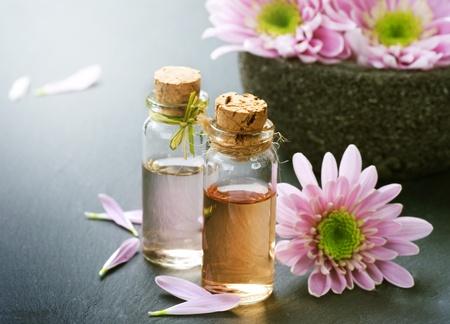 Spa Essential Oil. Aromatherapy photo