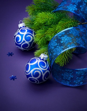 Christmas and New Year Decoration Stock Photo - 9358076