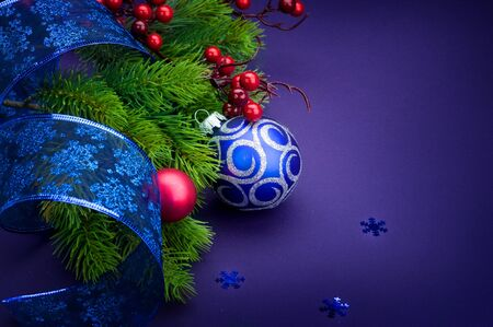 Christmas and New Year Decoration Stock Photo - 9358079