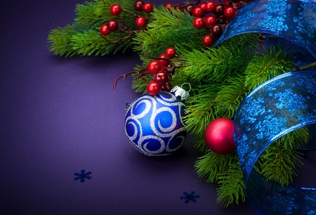 Christmas and New Year Decoration  photo