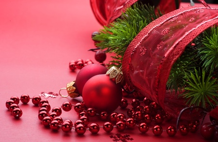 Christmas and New Year Decoration  Stock Photo - 9358073