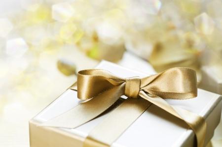 gifts: Geschenk doos Stockfoto