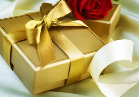Valentine or Wedding Gift Stock Photo - 8720868