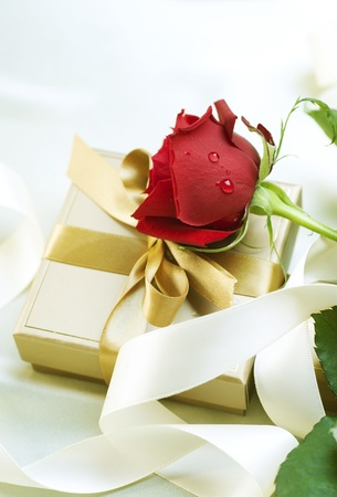 Vedding or Valentine gift photo