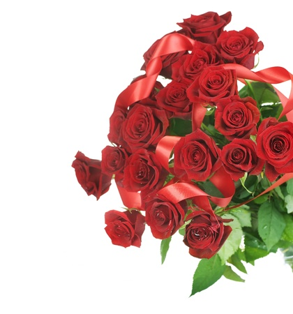 Beautiful Red Roses Bouquet photo