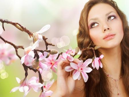 Beautiful Spring Girl photo