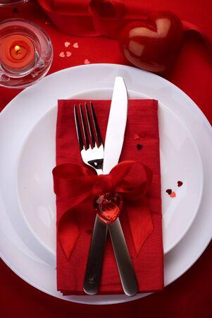Valentine Romantic Dinner Stock Photo - 9019773