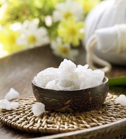 body scrub: Spa treatment.Sea Salt